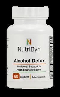 Alcohol Detox - 60 Capsules